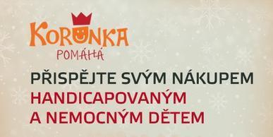 Staňte se s námi partnerem charitativního projektu Korunka Pomáhá a přispějte na dobrou věc!