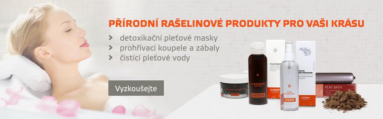 Lázeňská kosmetika - kousek lázní u Vás doma